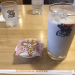 コメダ珈琲店 - アイスミルクコーヒー