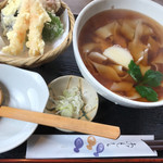 92761033 - 天ぷらきしめん税込1100円♤天ぷらサクサク