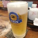 92761053 - 「生ビール」(648円)