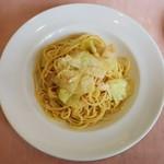 92762677 - ホタテとキャベツのスパゲッティー