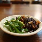 たか - 茎わかめ、きくらげと筍の煮物