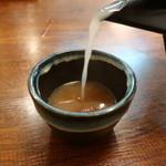たか - 蕎麦湯イン