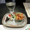 駄愚栖 - 料理写真:八海山醸造500円とお通し