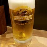 立呑み晩杯屋 - 生ビール:410円
