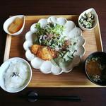 お寺カフェ 一輪 - 料理写真: