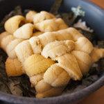 柿崎商店  - 白ウニ丼