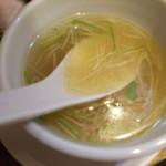92770457 - 3種の貝出汁つけ麺のつけ汁