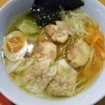 農村かふぇ ハレルヤ - 特製ラーメン(細麺)(*´>ω<`*)