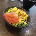 ふぅわ黒毛和牛ハンバーグ - 選べる特典  サラダ