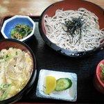 まるしん - かつ丼セット@780