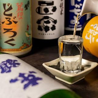 全国厳選の日本酒やワインなど充実のラインナップ!!
