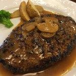 盛盛亭 - 料理写真:ジャンボハンバーグ定食250g 1,550円