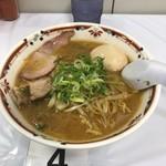 狼スープ - 自然卵入り味噌らーめん1134円