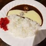 ジェンコバル - 限定チーズカレーライス 450円