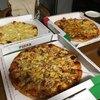 ピザハウスアメリカン - 料理写真:恐竜ピザ&エスニック、ガーリック、地中海グラタン