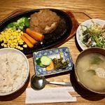 キッチンよい一日 - ハンバーグ定食 1307円