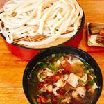 田舎っぺ - 料理写真:うま辛肉 大盛り 700円+ tax