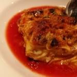 キッチン&マーケット - こんがり香ばしいチーズになめらかパスタ、ミートソースやホワイトソースにあっさりフルーティなトマトソースが合う!