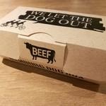 キッチン&マーケット - ハンバーグドッグは丈夫な専用ケース入りで、持ち運びも安心