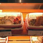 キッチン&マーケット - イタリア食材メインの市場「メルカ」内、テイクアウト専用パスタとデリのセット648円(その2)