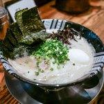 博多一双 - ■特製ラーメン 1000円