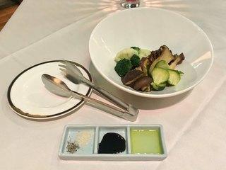 テラスレストラン ローズ - 温野菜取り合わせ(750円)