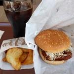 ケンタッキーフライドチキン - 料理写真:サンドセット(690円)