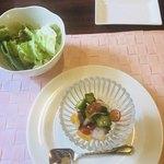 92786356 - グリーンサラダと前菜