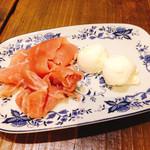 garettokafemoga - 生ハムとクリームチーズ
