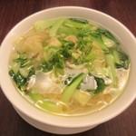 鼎泰豐 - えびと豚肉入ワンタン麺