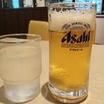 マユール - 飲み放題は生ビールがグラス