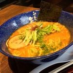 らーめん矢吹 - 料理写真:魚介醤油とんこつ