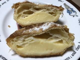 プティコレット - クッキークリームの断面