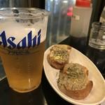92793259 - 生ビール&お通し