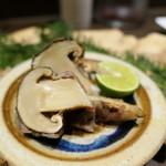 シノリ - 追加:松茸の豚巻き1200円