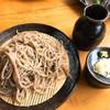 そば処 平石亭 - 料理写真:源流ざるそば(600円)+大盛り(100円)