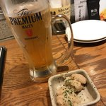 92794014 - 生ビール&お通し
