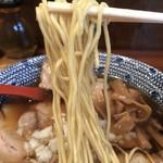 弘富 - 【2018.9.3】加水率低めのボキボキとした食感の細麺。