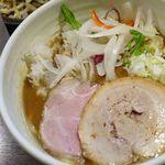 92796791 - 鶏白湯塩麺、醬油味