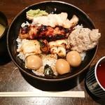 Re時屋 - 焼鳥丼¥850-
