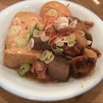 92797153 - 牛すじ豆腐煮 410円