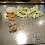 好鐡 - 『肉三昧焼き(牛カルビ、鶏肉、豚バラ、野菜)』 1,060円