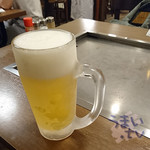 好鐡 - 生ビール  550円