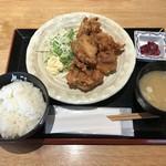 92798741 - ザンギ定食、500円