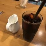HOUSE Pinocchio - セットのアイスコーヒー