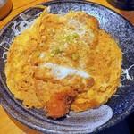 三是食堂 かつどころ - かつ煮¥800