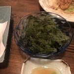彩菜BAR Q's - 海ぶどう