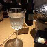 梅田燈花 - 5500円の飲み放題コースより 八海山