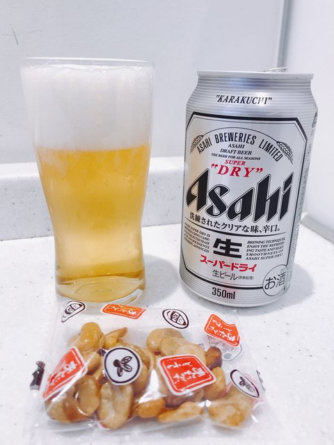 ラウンジ ASO - まずは熊本の〆にビールです♪