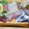 小松 - 料理写真:刺身盛り合わせ